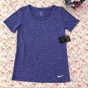 Nike Tops - Nike dri-fit workout tee purple